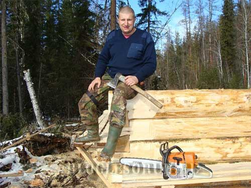 плотник лесоруб фото