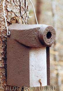 гнездовье-для-хохлатой-синицы фото