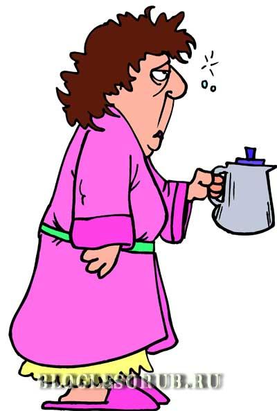 дама-с-чайником картинки
