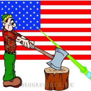 Как стать лесорубом в США