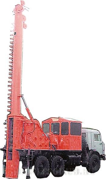 Передвижная канатная установка МЛ-139 фото