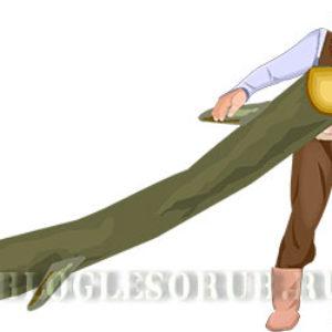 Незаконная рубка: крестьянин