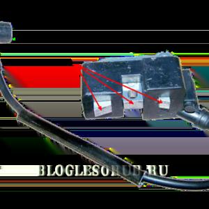 Ремонт блока зажигания бензопилы