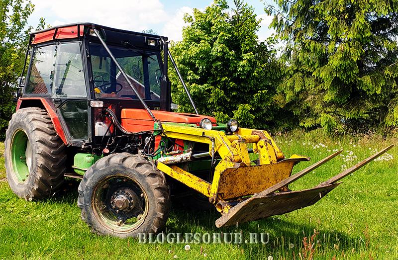 чешский трактор Zetor 7245